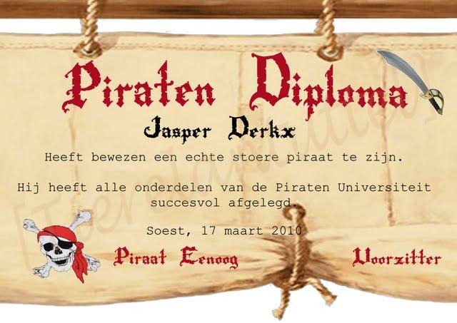 Onwijs Piraten kinderfeestje thuis-Vier uw piraten feestje met deze tips JX-91