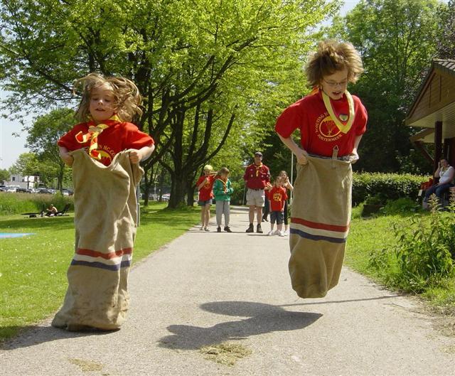 Uitzonderlijk Spelletjes voor buiten - Kinderfeestje Thuis JU91