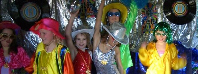 versiering disco feest