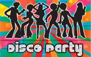 Uitnodiging disco kinderfeestje thuis